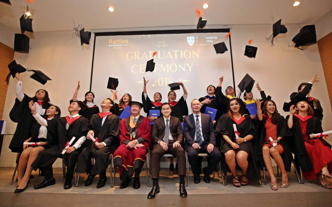 Raffles Graduation Ceremony 2018
