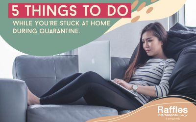 5 Things To Do While You're Stuck At Home During Quarantine