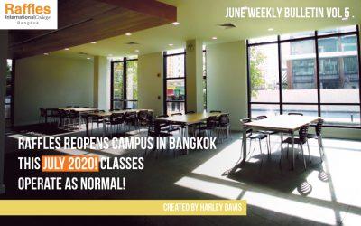 June Weekly Bulletin VOL 5 .