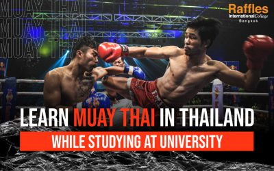Learn Muay Thai in Thailand while studying at university